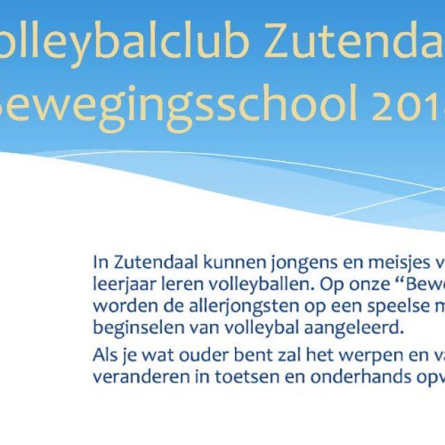 Bewegingsschool Volleybalclub Zutendaal (1ste reeks)